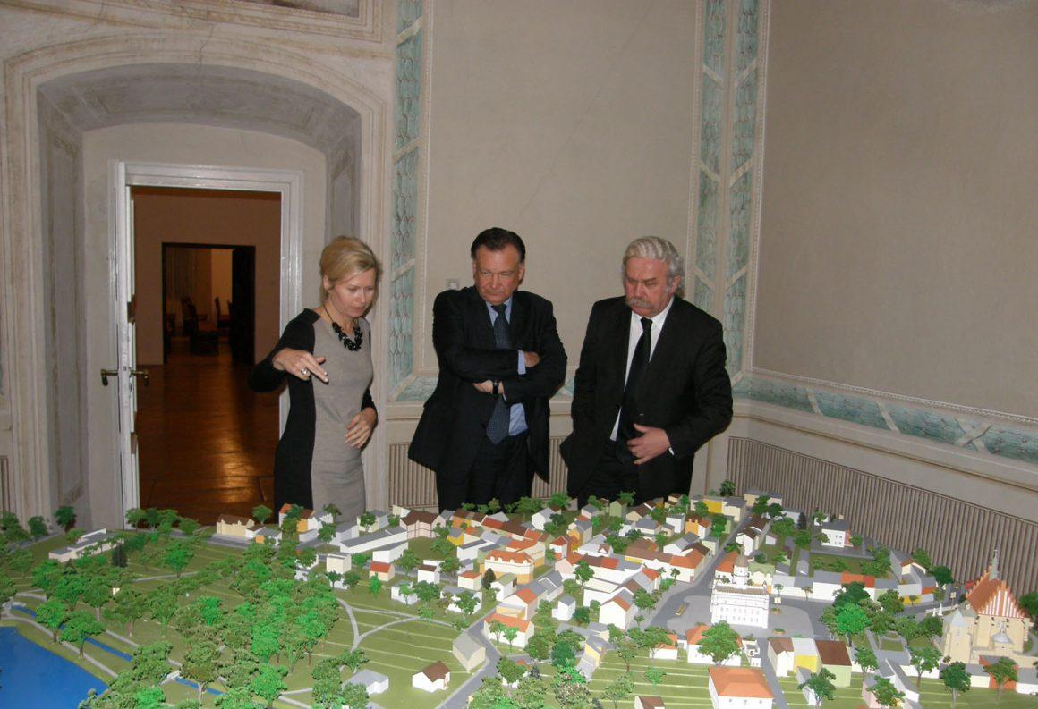 Wizyta Marszałka Województwa Mazowieckiego oraz Burmistrza Miasta Szydłowca w MLIM