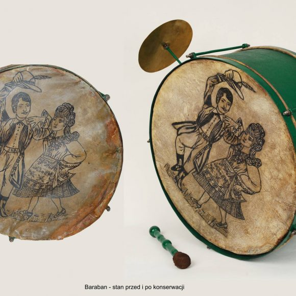 Konserwacja instrumentów muzycznych ze zbiorów Szydłowieckiego Muzeum