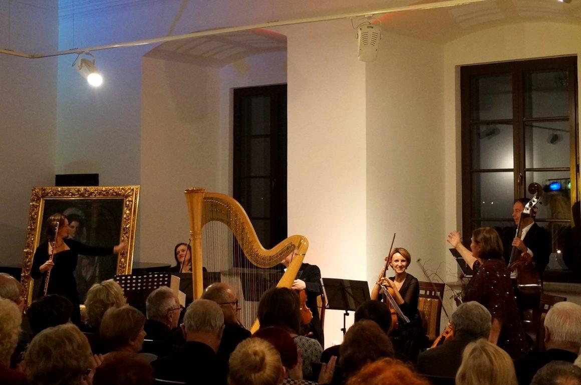 Prawykonanie wersji kameralnej mozartowskiego koncertu na flet i harfę