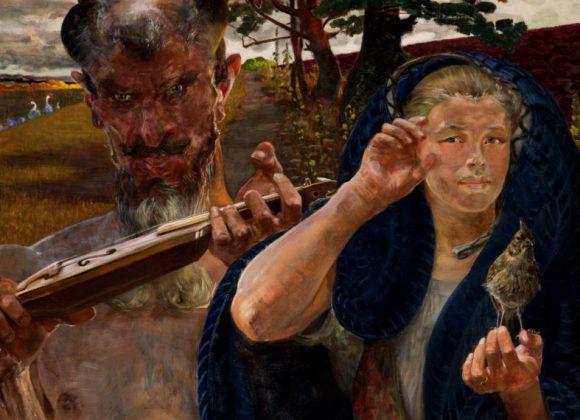 Instrumenty ludowe w malarstwie polskim