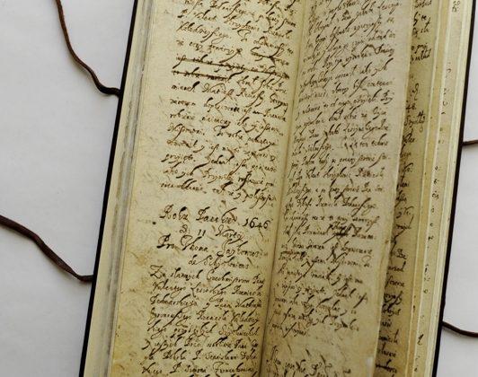 Wśród dawnych ksiąg i dokumentów