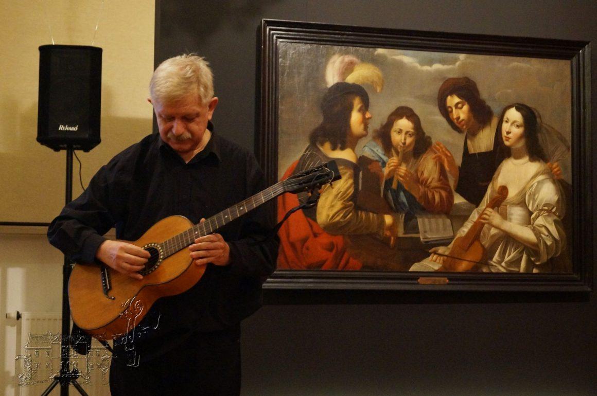 Lutnia i gitara – instrumenty muzyków dawnych wieków – wykład i koncert Jerzego Żaka