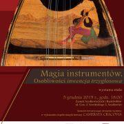 Magia instrumentów. Osobliwości inwencja trzygłosowa