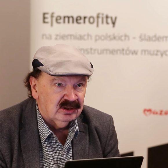"""prof. dr hab. Zbigniew J. Przerembski – """"Dudy podhalańskie – typ nomenklatoryczny czy efemerofityczny, czyli o trudnościach w określeniu pochodzenia instrumentów"""" (wideo)"""
