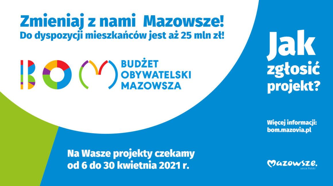 Druga edycja Budżetu Obywatelskiego Mazowsza