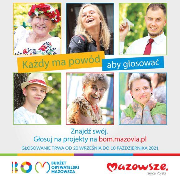 Budżet Obywatelski Mazowsza – to już ostatnie dni na oddanie głosów!