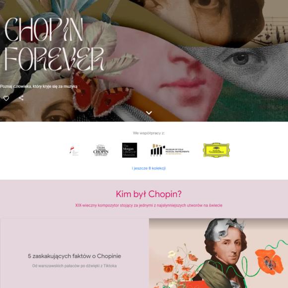 """Muzeum Ludowych Instrumentów Muzycznych w Szydłowcu prezentuje swoje kolekcje na platformie Google Arts & Culture w ramach międzynarodowego projektu """"Chopin Forever""""."""